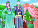 Elf Princess Bride Dress Up