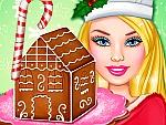 Ellie Gingerbread House Decoration