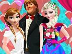 Elsa Bridesmaid Dress Up