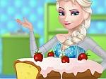 Elsa Cooking Pound Cake