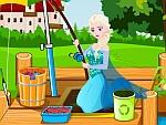 Elsa Learns Fishing