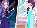 Elsa Nice and Evil