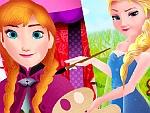 Elsa Painting Anna