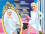 Elsa Shopping Dress Up