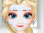 Elsa Wears the Wedding Dress