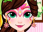 Fairy Face Painting Design