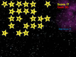 Falling Stars | Word Forming Game | Spelling