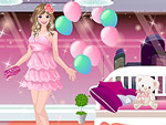 Fancy Pink Dresses Dress Up
