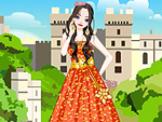 Fashionable Princess Dress Up