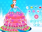 Frozen Princess Cake Decor