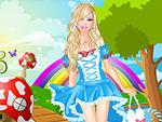 Girl in Wonderland Dress Up