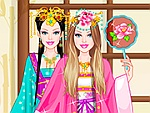Gorgeous Chinese Princess Dress Up