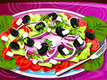 Greek Salad Decoration
