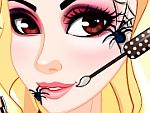 Halloween Makeup Spider Queen