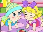 Happy Baby Coloring