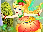 Happy Flower Fairy Dress Up