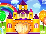 Happy Princess Castle Decoration
