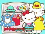 Hello Kitty and Mom Matching Outfits
