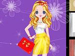 Hot Fashion Blogger Dress Up