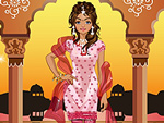 Indian Traditional Girl Dress Up