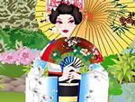 Japanese Garden Geisha Dress Up