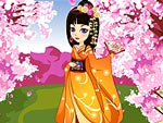 Japanese Princess Kazumi Dress Up