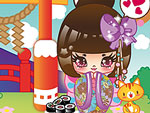 Kokeshi World Dress Up
