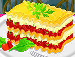 Lush Lasagna Decoration