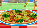 Manhattan Pizza Cooking