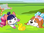 My Two Cute Pets Dress Up