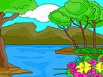 Nature Scene Coloring
