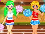 Olympics Cheerleaders Dress Up