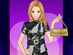 Oriental Influence Fashion Dress Up