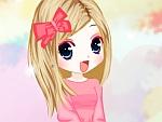 Peach Pink Style Dress Up III