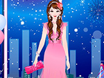 Pink Party Dress Up