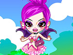 Pink Vampire Princess Dress Up