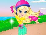 Polly on Roller Skates Dress Up