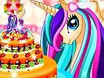 Pony Princess Cake Decoration