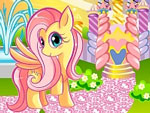 Pony Princess Castle Decoration