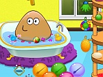 Pou Bathing