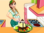 Pregnant Anna Ice Cream