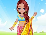 Pretty Indian Princess Dress Up