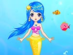 Pretty Little Mermaid Princess Dress Up