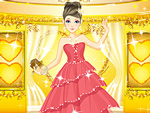 Pretty Prom Girl Dress Up