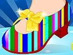 Princess Ariel Shoe Design