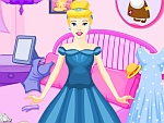 Princess Cinderella Messy Room Cleaning