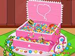 Princess Jewelry Box Cake