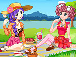 Princess Spring Picnic Dress Up