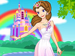 Rainbow Princess Dress Up