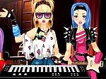 Rockband Keyboard Girl Dress Up